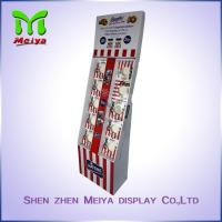 Best 4 Compartments cardboard corrugated floor displays , cardboard book display wholesale