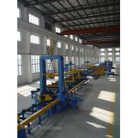 Best Industrial Automatic H-beam Steel Assembling Machine 380V , 28000mm Roller Way wholesale