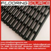 Best Heavy duty PVC tube matting dry quickly resist slip changing room around pool shower room matting wholesale