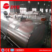 Best Stainless Steel Milk Cooling Tank Truck For Milk Transportation wholesale