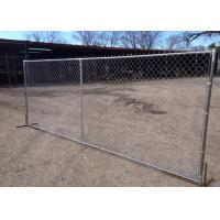 Best Temporary Chain Link Fence  Barrier Panel 60X60mm For Constructions Site wholesale