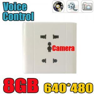 Best Home Security Wall Socket Outlet DVR Spy Hidden Camera Surveillance Audio Video Recorder wholesale