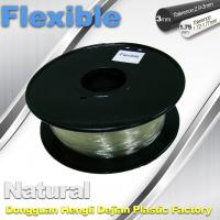 Best Transparent Rubber Flexible 3D Printer Filament Consumables 1.75mm  / 3.0 mm wholesale