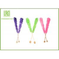 Best Custom Decorative Cake Pop Sticks , Wood Round Sticks For Cotton Candy wholesale