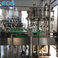Glass Bottling Sparkling Water And Carbonated Soda Filling Machine 3000BPH