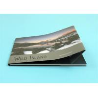 Cheap Custom Hardcover Photo Books with A4 Landscape Size ,  Professional Hardcover Book for sale