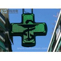 Best PH10MM Led Pharmacy Sign For Drag Store 600mm×640mm Cabinet Size wholesale