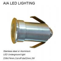 Best IP67 Stainless steel best selling item outside 3W LED underground lamps for villa residence wholesale