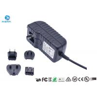 Best 12V 2A Multi Plug Interchangeable Plug Power Adapter For CCTV Camera Monitor wholesale