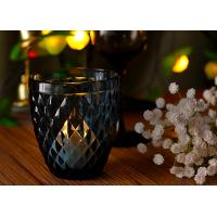Best Mouth Blown Glass Candle Holders For Wedding , Candle Glass Containers wholesale