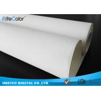 """Best 44 """" Wide Format Waterproof Inkjet Cotton Canvas Glossy Printing for Poster wholesale"""