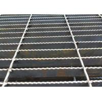 Best Q235 Carbon Steel Bar Grating , Galvanised Steel Grating Flooring ISO9001 Approval wholesale