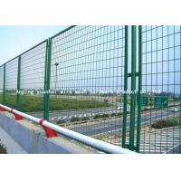 China Powder Coated Security Metal Fencing Low Carbon Iron Wire Mesh Panels on sale
