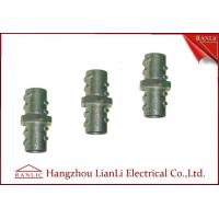 """Cheap 1/2"""" 3/4"""" Screw Coupling Flexible Conduit Fittings , Custom Threaded Pipe for sale"""