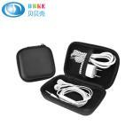 Best Best Sale Portable Black Storage EVA Earbud Case Hard Portable Bag and USB Cables Case EVA Earphone Case wholesale