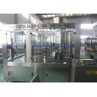Best Glass Bottle 24 heads Sparkling Beverage Production Line With Speed 7000BPH wholesale