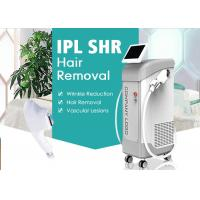 Cheap 3000W Vertical IPL SHR Hair Removal Machine Skin Rejuvenation Salon Use for sale