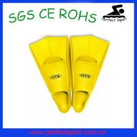 Buy cheap Silicone swimming fins diving flippers from wholesalers
