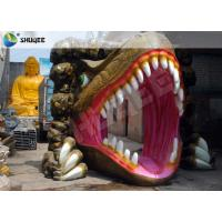 Best Dinosaur Designed Cabin 5D Cinema Equipment With Comfortable Chairs wholesale
