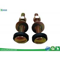 Best Toilet Accessories Toilet Tank to Bowl Bolts Set Of Two In Steel Brass Plated wholesale