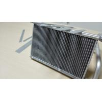 China Extruded Aluminium Radiator Tube 3003 / 3102 Aluminium Heat Exchanger Fin Tube on sale