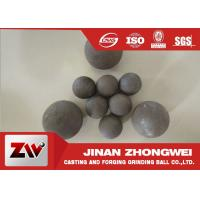 Best High Impact Toughness forged grinding balls for cooper mining special used wholesale