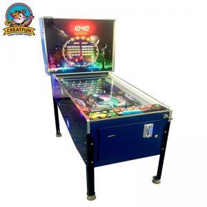 Classic Coin Operated Game Machine , Antique High Speed Pinball Machine