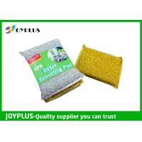 Best High Density Kitchen Nylon Sponge Scrubber , Dish Washing Scrub Pads 4 Pack wholesale