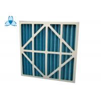 China Custom Size Industrial Air Filters Resistance 30 Pa  , 2000 M3/H Rated Air Flow on sale
