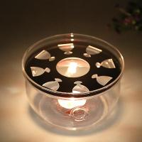 Best high quality glass tea/coffee candle warmer,glass candle warmer,Teapot warmer wholesale