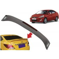 Best Auto Sculpt Rear Trunk Spoilers for Hyundai Accent 2010 2015 Verna , OE Style with Light wholesale