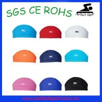 Cheap Colorful lycra swimming caps for sale