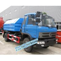 Buy cheap Hydraulic lift blue color Dongfeng 4X2 8 ton hook lift truck cheap price for from wholesalers