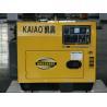 Buy cheap Single Phase 3kva Silent Diesel Generator , Portable Quiet Diesel Generator from wholesalers