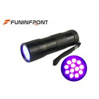 Cheap 12 LEDs Black Light 395NM UV LED Flashlight for Nail Polish, Scorpion Hunt for sale