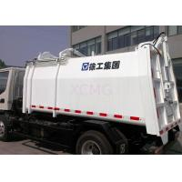 Best Self Dumping Side Loader Garbage Compactor Truck 3tons Special Purpose Vehicles wholesale