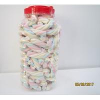 Best Rope Shape Twisted Marshmallow Candy , Gourmet Marshmallow Easter Candy wholesale