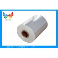 Best 40mic Shrinkable Clear PVC Shrink Label Wrap Film For Wrapping And Printing Label wholesale
