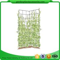 """Cheap Two Panel Folding Screen Trellis , Garden Trellis Plant Support 35-1/2"""" W x 58"""" H overall  Powder-coated steel for sale"""