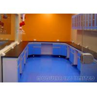 Buy cheap U Shape Laboratory Work Benches With Wall Cabinet and Exhaust Hood from wholesalers