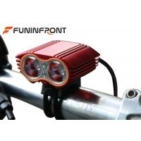 Best 2000 Lumens CREE XML T6 Led Bicycle Front Lights for Moutain Bike wholesale