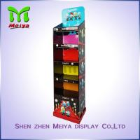 Best 5 Tiers Cardboard Floor Displays stand for cartoon toy , retail cardboard displays wholesale