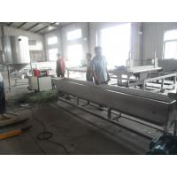 China 1000kg/h Recycled Plastic Granules Machine Noodle Cutting Pelletizer of PP / PE on sale