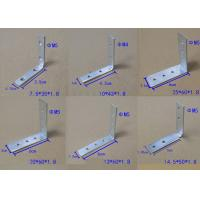 Best Zinc Plated Corner Fixing Set Iron For Vertical Top Profiles And Drawer Profiles Jointed Truss Bracket wholesale