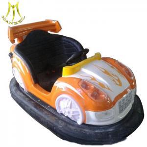 China Hansel high quality fiber glass amusement park games kids ride machine battery operated bumper car on sale