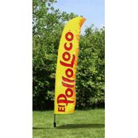 Best Outdoor Business Flags And Banners , Full Color Pull Up Banner 4.6 Meter wholesale