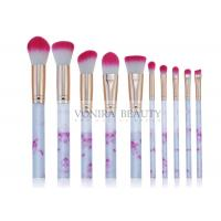 Best Marvelous Marble Handle Mass Level Makeup Brushes For Facial , High End wholesale