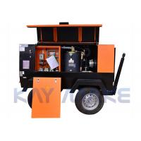 Best 1550KG Diesel Screw Air Compressor CE Certification With Air End And Oil Gas Tank wholesale