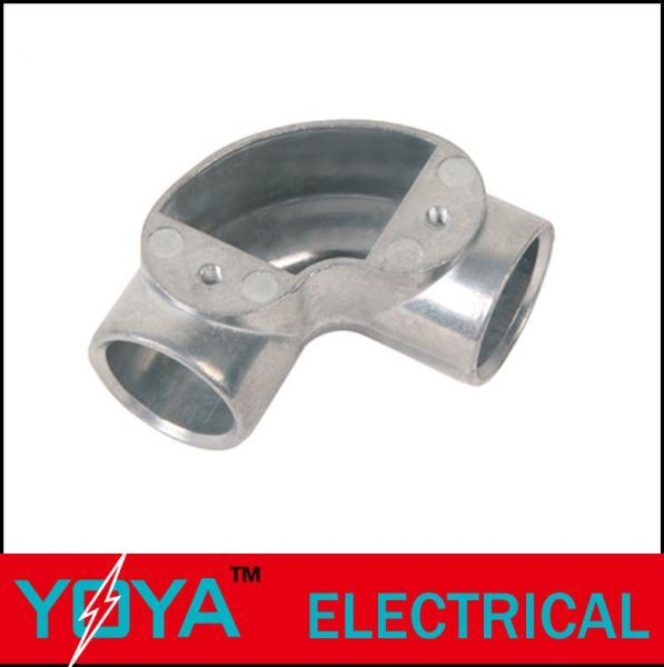 Details of threaded rigid conduit aluminum junction box