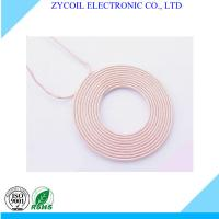 Best Copper Wire Wireless Charger Coil , Toroidal QI Charging Coil For Iphone wholesale